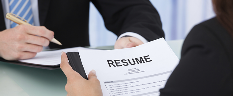 Want a job? Read your resume!
