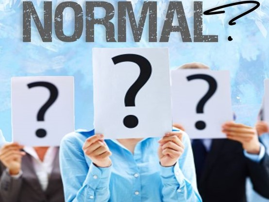 What is normal and who is the judge of normal?